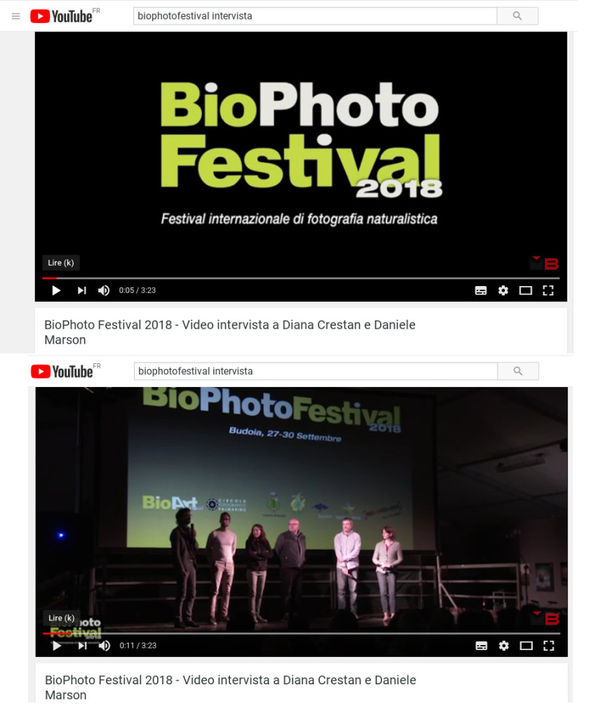 youtube biophotofestival