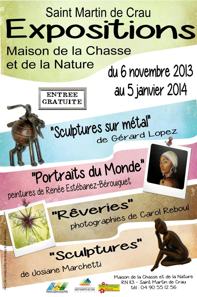 st martin de crau maison nature carole reboul expo photo